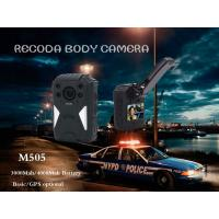 Buy cheap RECODA M505 GPS Tracking Police Waterproof Body Worn Camera Night  Vision from wholesalers