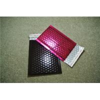 Large Pink Metallic Bubble Mailers 175x260mm #D PVC Puncture Resistant