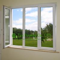 Buy cheap Casement UPVC Windows For House residential, White Color and Inward Opening Swing Windows from wholesalers