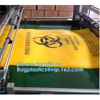 Buy cheap Biohazard liner bags, drawstring liner, drawtape liner, clinical, medical, hospital, healthcare, medication, supplies from wholesalers