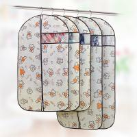 Buy cheap Custom Fabric Zippered Hanging Garment Bags Visible Window Self - Adhesive Seal from wholesalers