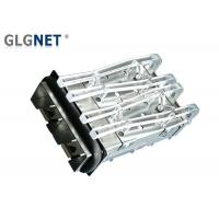 Buy cheap 1x2 Ports Ganged SFP Cage Assembly Female Copper Alloy Housing Material from wholesalers