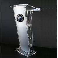 Buy cheap Modern Acrylic Jewelry Display Case And Clear Acrylic Lectern Stand from wholesalers