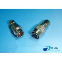 Buy cheap Male And Female Self Latching Hirose Circular Connectors 6 Pins Compatible from wholesalers