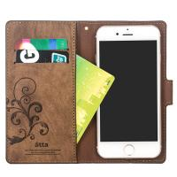 Buy cheap 2018 Hot sale leather mobile phone wallet case for iPhone with card pocket from wholesalers