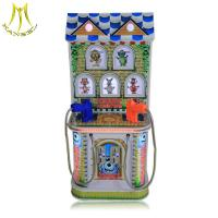 Buy cheap Hansel high quality token operated kids simulation shooting machine for sale from wholesalers