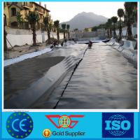 Buy cheap Plastic swimming pool cover roll fish farm pond liner hdpe geomembrane from wholesalers