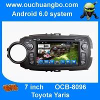 Buy cheap Ouchuangbo car stereo gps radio for Toyota Yaris with android 6.0 system steering wheel control from wholesalers