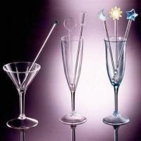Buy cheap Acrylic Stirrers, Measures 1.0 x 20.5cm, Suitable for Cocktails from wholesalers