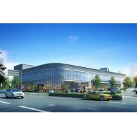Buy cheap Shopping Mall Corner Arc Z Purlin Building Steel Frame from wholesalers