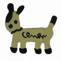 Buy cheap Crochet animal applique for kid's clothing, 20kg pulling force from wholesalers