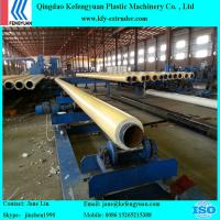 Buy cheap HDPE one step PU for steel pipe insulation foaming production line from wholesalers