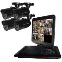 Buy cheap 8-channel Network CIF CCTV Monitors Security DVR Kit with 4 IR Bullet Cameras from wholesalers