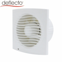 Buy cheap HVAC Plastic Ceiling Fan Wall Mounted 100 MM Fan Kitchen 4 Inches Exhaust DC Air Fan from wholesalers