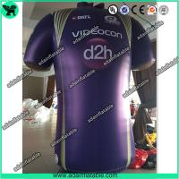 Buy cheap Advertising Inflatable Cloth Replica T-Shirt Model/Sports Promotion Inflatable from wholesalers