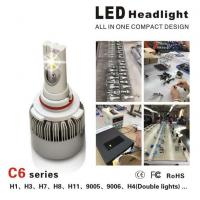 Buy cheap CE / RoHS Approved Luxeon MZ Car LED Headlight Bulbs 3000LM 3000K - 6000K product