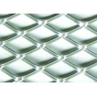 Buy cheap 5 X 5mm Stainless Flattened Expanded Sheet , Stamping Stainless Steel Expanded Metal Grating from wholesalers