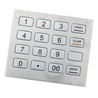 Kiosk keypad Support Triple DES Algorithm Kiosk Metal Keyboard