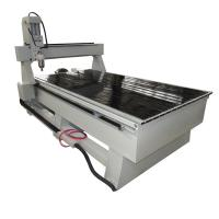 Buy cheap 4 axis 1325 Wood CNC Router with Underlying Diameter 300mm Rotary Axis from wholesalers