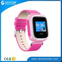 Buy cheap GSM Personal GPS Tracking Anti-Lost Safeguard Device Children Smart Watch for France product
