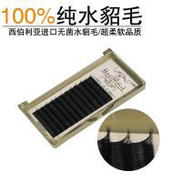 100% Real Mink Eyelash Extensions Mink Individual Eyelashes 6 - 16mm Length