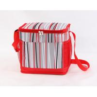 Buy cheap Striped fabric cooler bag polyester cooler bag-HAC13114 product