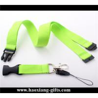 Buy cheap Promotional wholesale blank nylon lanyard custom your size printed your logo from wholesalers