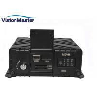 Buy cheap 3G Free Client Software Car Surveillance Dvr H 264 Dvr 4G Mobile 4CH WIFI product