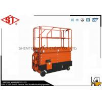 Buy cheap Self Propelled scissor platform lift / adjustable work platform from wholesalers