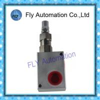Buy cheap Aluminium Hydraulic Dump Truck Controls Pressure Relief Valve 80 I/min from wholesalers