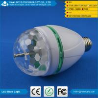Buy cheap E27 220V 110V LED Light Bulb Colorful Auto Rotate RGB Party Stage Lamp 3W Disco from wholesalers