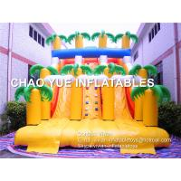 Buy cheap 2017 Popular Forest Double Lane Inflatable Slide, Hottest Customized Two Lane Inflatable Slide for Adults from wholesalers