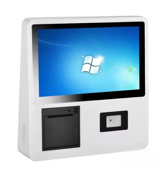 """Quality RJ11 21.5"""" Wall Mounted Digital Signage PCPA Touch POS Terminal Kiosk for sale"""