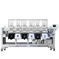 Buy cheap 12 15 Needles 6 Head Embroidery Machine High Speed T Shirt Hat Embroidery Machine from wholesalers