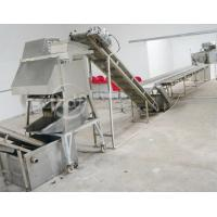 Buy cheap Industrial Automatic Potato Chips Making Machine Electric Heating ISO / CE from wholesalers