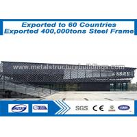 Buy cheap Galvanized Modular Prefabricated Steel Structures Metal Buidings With ISO from wholesalers