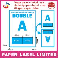 Buy cheap A4 INTEGRATED INVOICE PAPER PEEL OFF STICKY LABEL from wholesalers