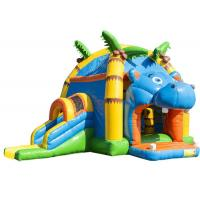 Buy cheap Attractive Inflatable Toddler Bounce House With Slide , Commercial Inflatable Jump House from wholesalers