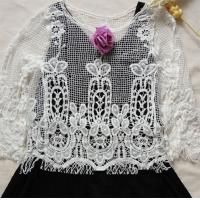 Buy cheap 2015 FASHION DESIGN lace cardigan from wholesalers