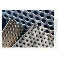 Buy cheap Architecture Slotted Perforated Stainless Steel Sheets With Round / Square Hole from wholesalers