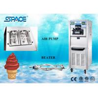 Buy cheap 220V Ice Cream And Frozen Yogurt Machine With LCD Display 3 Flavors Mix from wholesalers