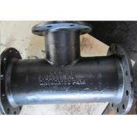 Buy cheap Ductile Iron All Flanged Tees from wholesalers