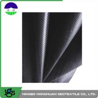 Buy cheap 460G Black Geotextile Filter Fabric Convenient / Woven Geotextiles from wholesalers