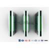 Buy cheap Security Turnstile Barrier Gate Sliding , Waist High Turnstile Intelligent from wholesalers