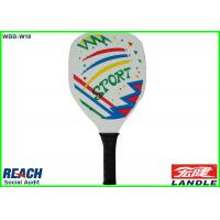 Buy cheap Big Wood Beach Ball Racket / Paddle Tennis Rackets 34*20.5*0.32cm from wholesalers