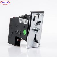 Buy cheap ZINC ALLOY plate coin acceptor with coin operated Timer Control Board Power Supply box from wholesalers