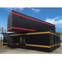 Buy cheap Partition Wall Inside Paintings Modified Container House With Sunny Windows from wholesalers