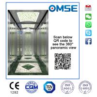 Buy cheap VVVF Traction Type Passenger Elevator with Good Quality and Reasonable Price with Beautiful Decoration from wholesalers