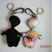 Buy cheap plastic 3D custom PVC rubber keychain from wholesalers