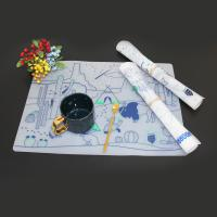 Buy cheap Food grade magic drawing mat drawing mat doodle silicone kids clear placemat from wholesalers